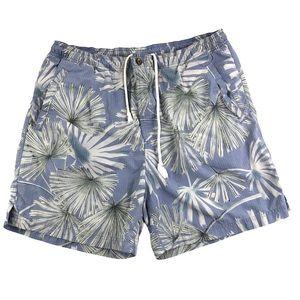 Tommy Bahama Blue Swim Trunks Size Medium Men's
